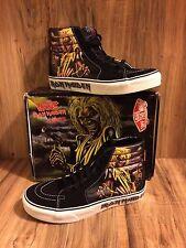 Seltene 🔥 Vans Iron Maiden SK8-HI Killer Edition SZ 8 Herren Rock