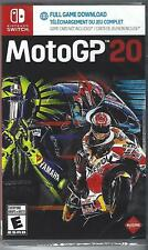MotoGP 20 (Nintendo Switch, 2020) Brand New Factory Sealed