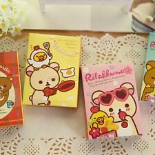Korean Mini Cartoon Bear Post It Memo Bookmark Sticky Notes Paper Stationery A35