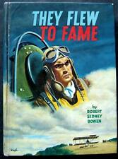 They Flew to Fame Book Real Life Stories Series Whitman 1963 HC # 1504