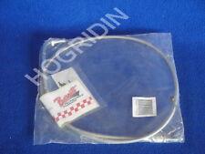 Barnett 102-35-40005 +4 idle stainless steel braided cable Honda vt 1100 shadow