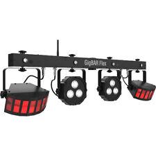 Chauvet GigBAR Flex DJ Lighting Multi 3 in 1 Derby Par LED Effect Light System