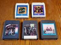 Five, Oak Ridge Boys, 8 Track Tapes, Tested.