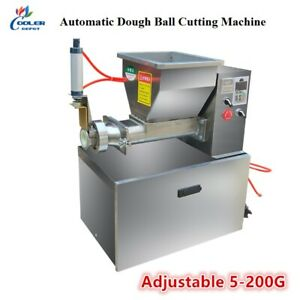 NEW Adjustable Dough Divider Cutter and Rounder Automatic Machine Model HD75