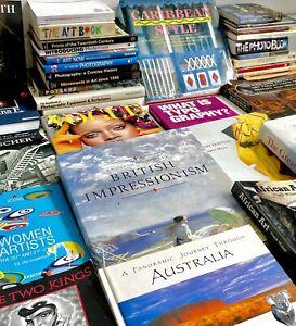 Art, Photography, Design, Fashion & Arts 30+ Books Joblot Bundle - FREE SHIPPING