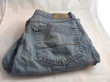 Wrangler Originals Blue Jeans 33 X 30 Men's Jeans Regular Fit Straight Leg