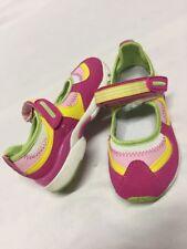Tsukihoshi Shoes Baby Toddlers, Size 8.5 Pink/Green , Eur 25.5