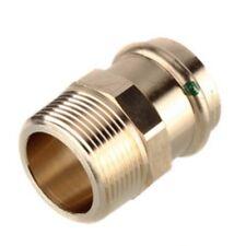 "NIB Viega Propress 1//2/"" x 1//2/"" Zero lead Bronze Female Adapter #79300 Bag of 10"