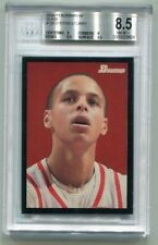 Stephen Curry 2009 Bowman Black #33/48 BGS 8.5 NM-MT+ Rookie RC