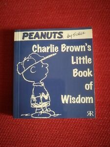 Charlie Brown's Little Book Of Wisdom Peanuts