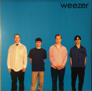 Weezer Blue Album Vinyl Record: Vinyl