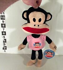 "12"" PAUL FRANK MONKEY SOFT TOY - PINK SHIRT"