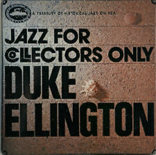 Duke Ellington Jazz For Collectors Only - ... vinyl LP  record JPN promo