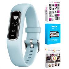 Garmin Vivosmart 4 rastreador de actividad & Fitness Azul Azul S/M + Fitness Suite