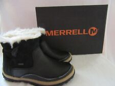 MERRELL Tremblant Polar Pull On Waterproof Leather Boots Shoes US 6 M EUR 36 NWB