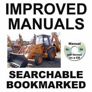 Case 580G 580 G CK Loader Backhoe Illustrated PARTS Catalog IMPROVED Manual CD
