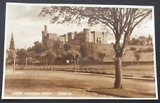 POSTCARD Inverness Castle SCOTLAND Bishop's Road REAL PHOTO 1470
