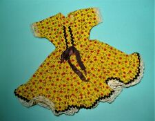 Vtg Ideal Tammy Clone 60s Doll Clothes Ellie Mae Clampett Dress