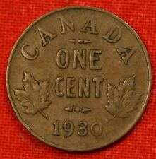 1930 CANADA SMALL CENT COLLECTOR COIN CHECK OUT STORE CASC87