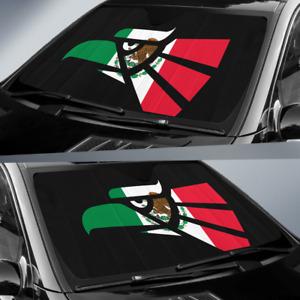 Auto Shade Hecho en Mexico Eagle Design with Mexican Flag Parasol para Carros