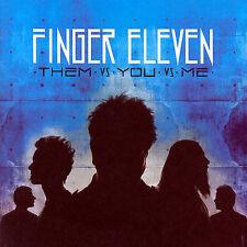 FINGER ELEVEN Them vs. You vs. Me (CD, 2007, Wind-Up) FACTORY SEALED