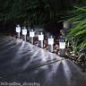 6 x AD ENERGIA SOLARE LUCI DA GIARDINO PALO PATIO ESTERNO ILLUMINAZIONE LED