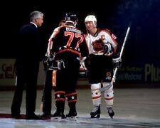 Wayne Gretzky, Ray Bourque All Stars NHL 8x10 Photo