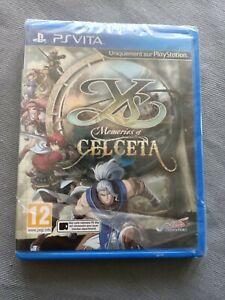 Ys Memories of Celceta Sony PS VITA PlayStation Vita NEUF FR RPG