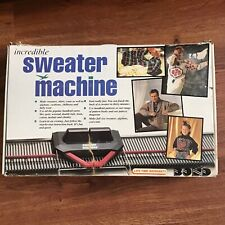 Bond Incredible Sweater Knitting Machine - Excellent Condition, In Box, Vintage