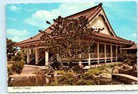 Buddhist Temple 640 N Fifth Street San Jose California Vintage 4x6 Postcard E05