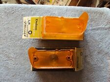 NOS 1967 Chevelle SS396 Malibu El Camino Front Park Lamp Lenses GM #5958639 & 40