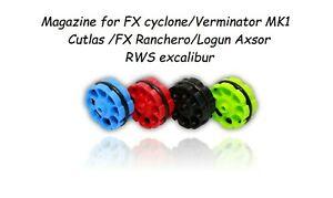 Mag. for FX cyclone,Verminator MK1,Cutlas,FX Ranchero,Logun axsor, RWS excalibur