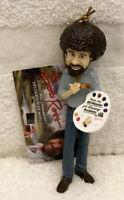 BOB ROSS HAPPY ACCIDENTS FIGURAL CHRISTMAS ORNAMENT NEW W TAGS