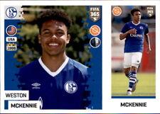 Panini FIFA365 2019 - Sticker 198 a/b - Weston Mckennie - FC Schalke 04