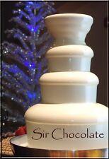 Chocolate Fountain Fondue 7.5lbs WHITE Warm-n-Pour for Chocolate Fountains