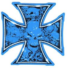 Aufkleber Iron Cross - IC - Eisernes Kreuz - Totenkopf - Skull - Old Shool (62)
