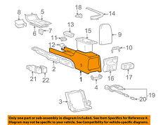 Genuine Hyundai 84630-39100-ZK Center Console Box Assembly