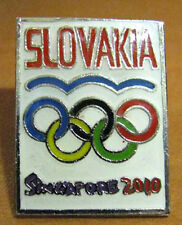 Singapore 2010 rare SLOVAKIA YOG Olympic NOC team pin