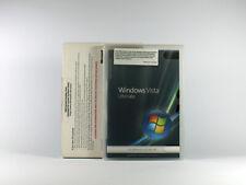 Windows Vista Ultimate 32-Bit SB Vollversion mit SP1, englisch SKU: 66R-02031