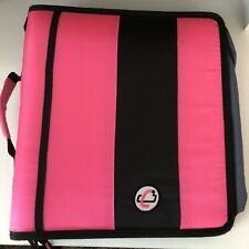 Case-It Pink Zipper Binder