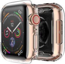 COVER per Apple Watch series 6 / SE CUSTODIA BUMPER SILICONE CLEAR TPU 44 40 mm