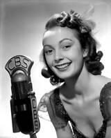 OLD CBS RADIO TV PHOTO Paula Kelly Vocalist in the Glenn Miller Orchestra 3