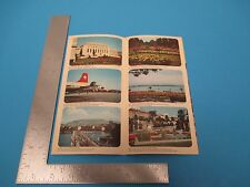 International Travel Brochure, Geneve Switzerland S886