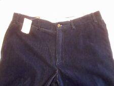 J McLaughlin 100% Cotton Earl Dark Indigo Blue Pants NWT 34 unhemmed $198