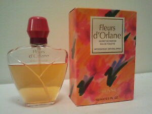 Orlane Fleurs D'Orlane 100ml EDT Spray Womens Perfume Fragrance Discontinued