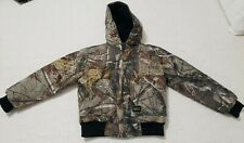 Walls Youth Camoflage Coat. Has the kids growth system.