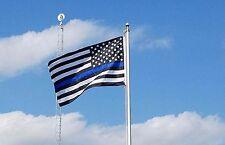 Thin Blue Line Flag 3x5 3'x5' 3 x 5 Police Lives Matter Officer Law Enforcement