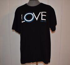 "THE HOST MOVIE T SHIRT XL ""Love"" Stephenie Meyer Black White Logo 2013"