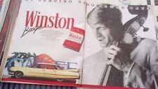 CLIPPING RECORTE winston cigarrillos tabaco anuncio vintage