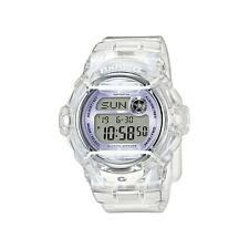 Casio Women's BG169R-7E 'Baby-G' Digital White Resin Watch